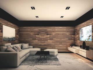 Moderner Multimedia-Raum von ARQUIFY Modern
