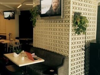 Restaurante Antulio : Estudios y oficinas de estilo  por Belen homify,