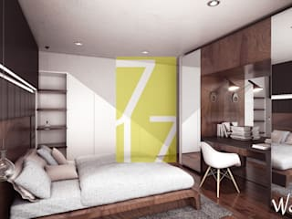 Modern style bedroom by 7-17 ARQUITECTOS Modern