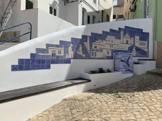 Casas modernas de Arti Arte Azulejar by Carla Guerreiro Moderno