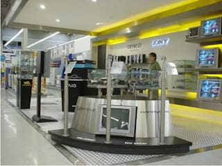AOG Garajes abiertos Aluminio/Cinc Metálico/Plateado