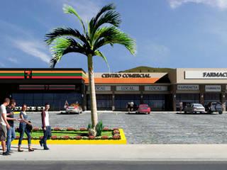 Cajititlan Centros comerciales de estilo rural de Helicoide Estudio de Arquitectura Rural