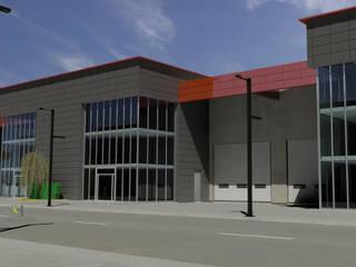 モダンな商業空間 の Helicoide Estudio de Arquitectura モダン