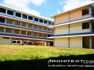 SEKOLAH MENENGAH KEBANGSAAN ENTILIBON Modern style study/office by Chin Architect Modern