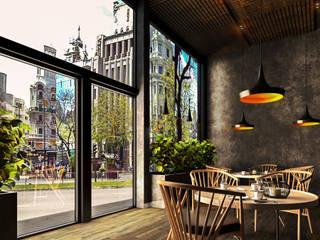 Renders (Visualización arquitectónica) de Arka Studio Moderno