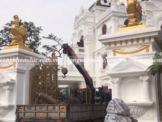 Công trình cổng nhôm đúc nhà chú Sửu - Hải Dương:   by Công ty TNHH Asuzac miền Bắc