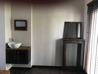 yatak odası lavabosu Modern Banyo Halif yapı Modern Ahşap-Plastik Kompozit