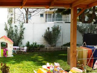 Jardines de estilo minimalista de HZ ARQUITECTOS SANTIAGO DISEÑO COCINAS JARDINES PAISAJISMO REMODELACIONES OBRA Minimalista