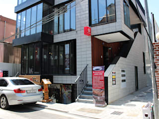 Casas de estilo  de 믹스토리, Moderno