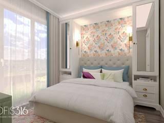 Asmalıbahçeşehir Evi Eklektik Yatak Odası OFİS316 TASARIM PROJE UYGULAMA Eklektik