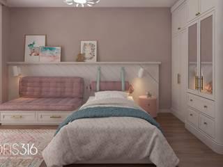 Asmalıbahçeşehir Evi Eklektik Çocuk Odası OFİS316 TASARIM PROJE UYGULAMA Eklektik