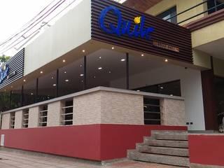 Restaurante Quile de CAMALEON DISEÑOS Minimalista