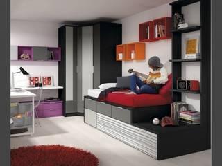 Mobiliario para dormitorio juvenil en Palencia: Habitaciones juveniles de estilo  de MUEBLES GATON VALLE, amueblamiento de espacios en Palencia  hacemos que los ambientes que den acogedores con encanto y un estilo diferente