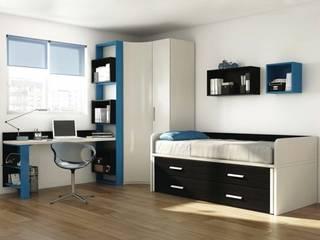 Mobiliario para dormitorio juvenil en Palencia: Dormitorios infantiles de estilo  de MUEBLES GATON VALLE, amueblamiento de espacios en Palencia  hacemos que los ambientes que den acogedores con encanto y un estilo diferente