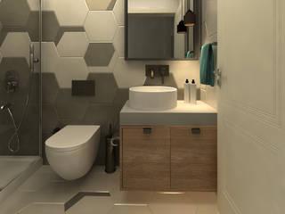 Eclectic style bathroom by OFİS316 TASARIM PROJE UYGULAMA Eclectic