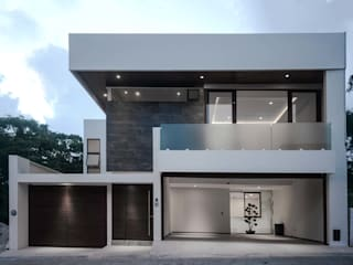 Single family home by GRUPO WALL ARQUITECTURA Y DISEÑO SA DE CV,