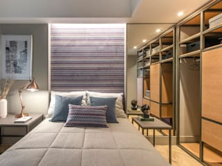 Modern style bedroom by BG arquitetura | Projetos Comerciais Modern