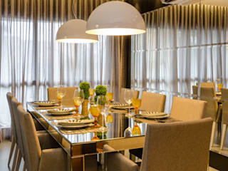 Moderne eetkamers van BG arquitetura | Projetos Comerciais Modern