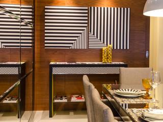 BG arquitetura | Projetos Comerciais Comedores de estilo moderno