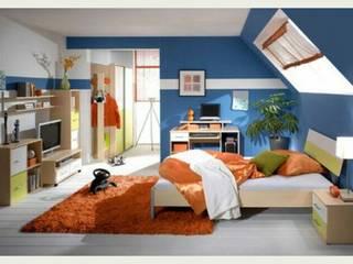 Remodelacion Habitación: Recámaras pequeñas de estilo  por Grupo Inza