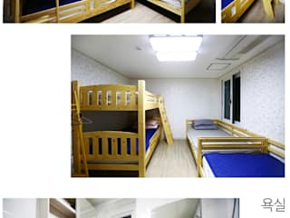 Media room by 한글주택(주), Modern