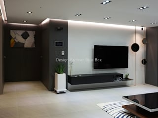 Modern living room by Design Partner Blue box Modern