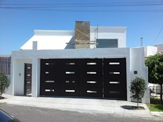 Juriquilla 1 Casas modernas de Nova Terra Construcciones Moderno