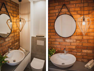 Ванная комната в стиле модерн от Fabryka Wnętrz Модерн