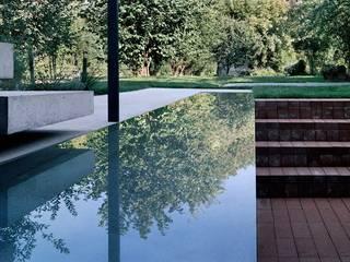 Reihenhaus Hirzbrunnen Basel Moderner Garten von Ave Merki Architekten Modern