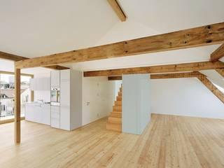 Mehrfamilienhaus Breisacherstrasse Basel Moderne Küchen von Ave Merki Architekten Modern