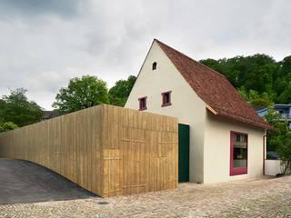 Baslerhofscheune Bettingen Moderne Veranstaltungsorte von Ave Merki Architekten Modern