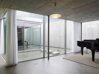 Wohnhaus Gelterkinden Moderne Wohnzimmer von Ave Merki Architekten Modern