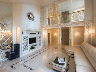 Дизайн частного дома Москва Гостиная в классическом стиле от Studio Design-rise Классический