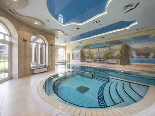 Дизайн частного дома Москва Бассейн в классическом стиле от Studio Design-rise Классический