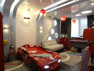 Nursery/kid's room by Studio Design-rise , Minimalist
