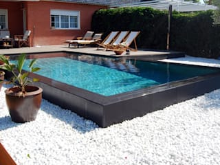 Pools Modern pool by Grupo Zoliar Modern