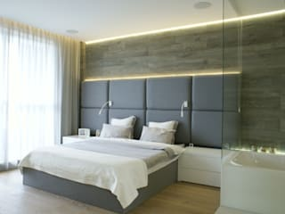 t design Scandinavian style bedroom