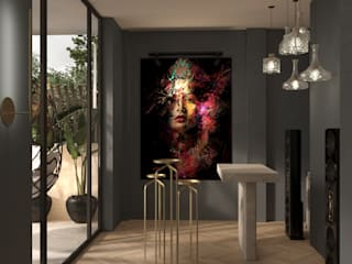 Diseño conceptual de zona de bar para un conocido DJ's Stockholm Barcelona Design - Interioristas en Barcelona Electrónica