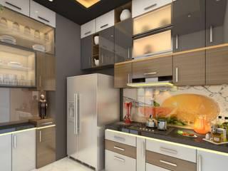 Kitchen Design Modern kitchen by Square 4 Design & Build Modern