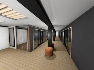 DISEÑO EDIFICIO EL ARRIERO: Centros comerciales de estilo  por s+s sady silva Arquitectura