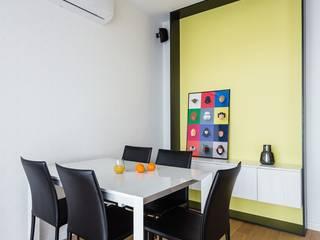 ZAWICKA-ID Projektowanie wnętrz Salones de estilo moderno
