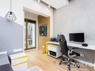 ZAWICKA-ID Projektowanie wnętrz Habitaciones juveniles