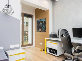 ZAWICKA-ID Projektowanie wnętrz Dormitorios infantiles de estilo moderno