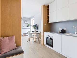 ZAWICKA-ID Projektowanie wnętrz Armarios de cocinas