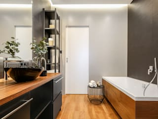 ZAWICKA-ID Projektowanie wnętrz Baños de estilo moderno