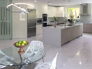 WEST BOCA RATON Cocinas modernas de Milestone Moderno
