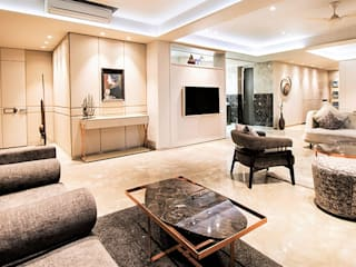 Residential Project :  Living room by M DEZIGN,