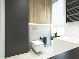 Apartament w Bielsku-Białej Nowoczesna łazienka od TIKA DESIGN Nowoczesny
