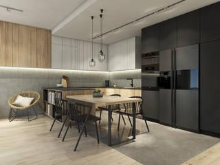 Apartament w Bielsku-Białej od TIKA DESIGN Nowoczesny