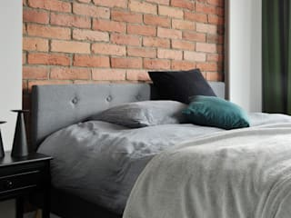 Apartament w Katowicach: styl , w kategorii Sypialnia zaprojektowany przez TIKA DESIGN